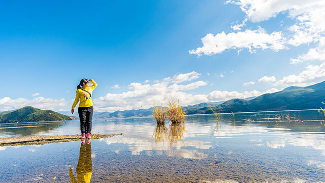 Có rất nhiều cách để di chuyển đến hồ Lugu trong tour lệ giang shangrila