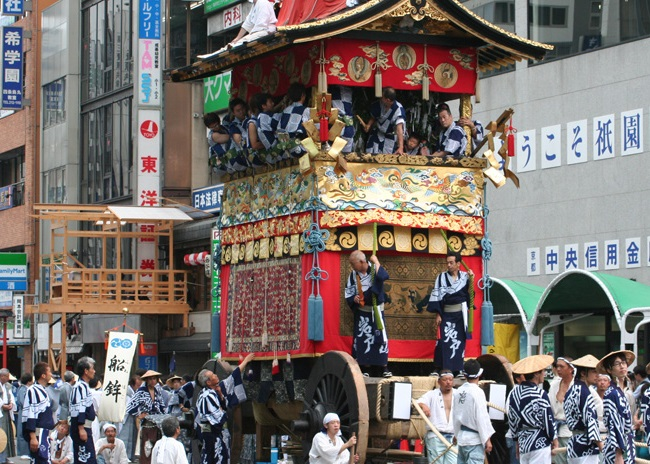 Lễ hội Gion (Gion Matsuri Festival) Nhật Bản