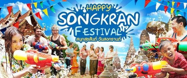 Tết Songkran – Lễ hội Té Nước ở Thái Lan