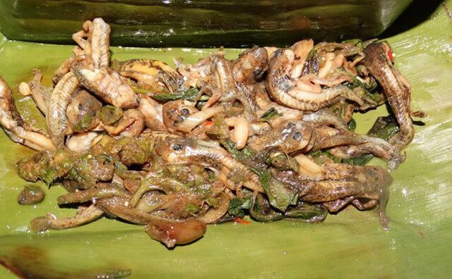 Nhiều du khách phải khiếp sợ Mok Huak nhưng cũng có nhiều du khách lại ấn tượng với hương vị của món ăn này