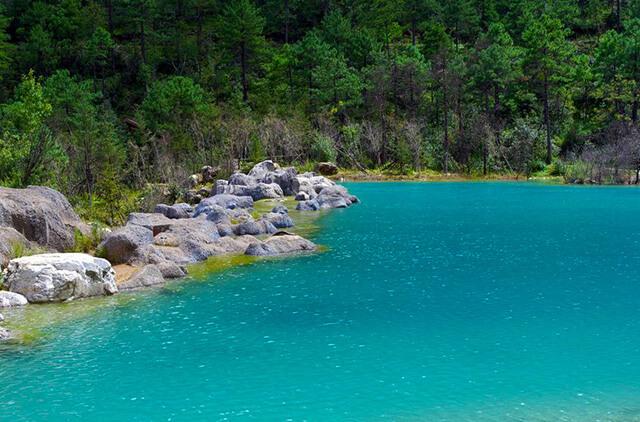 Do được nuôi dưỡng từ đá và tuyết của núi Ngọc Long mà nguồn nước ở đây mát lạnh quanh năm