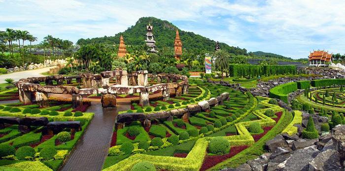 Vườn hoa Nong Nooch
