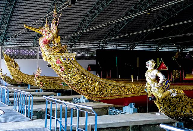 Bảo tàng thuyền rồng Hoàng gia Bangkok, Thái Lan