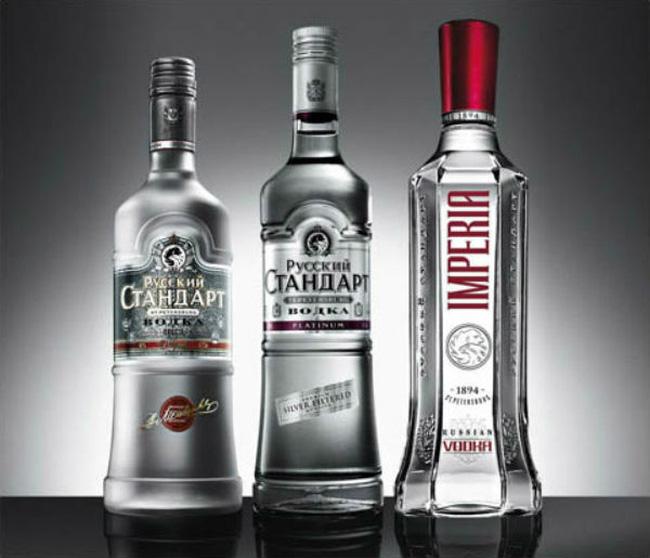 Rượu Vodka Nga