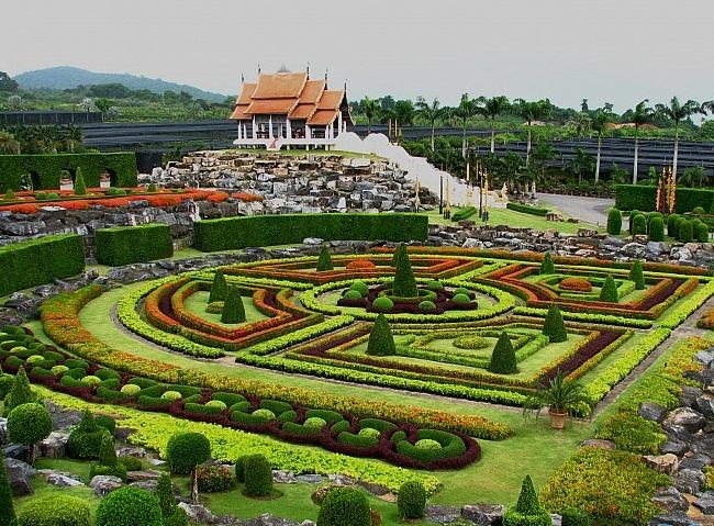 Làng văn hóa dân tộc Nong Nooch, Thái Lan