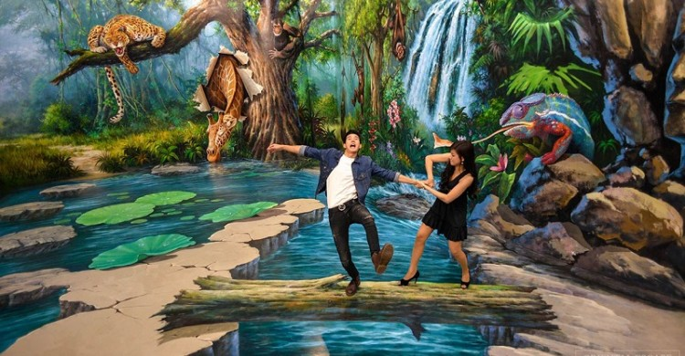 Bảo tàng 3D- 3D Air in Paradise