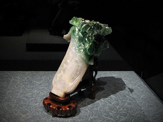 Khối ngọc bích có hình cây cải thảo