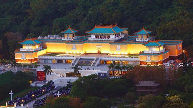 Bảo tàng Quốc Gia Đài Loan là nơi lưu giữ nhiều hiện vật văn hóa lịch sử vô cùng quý giá