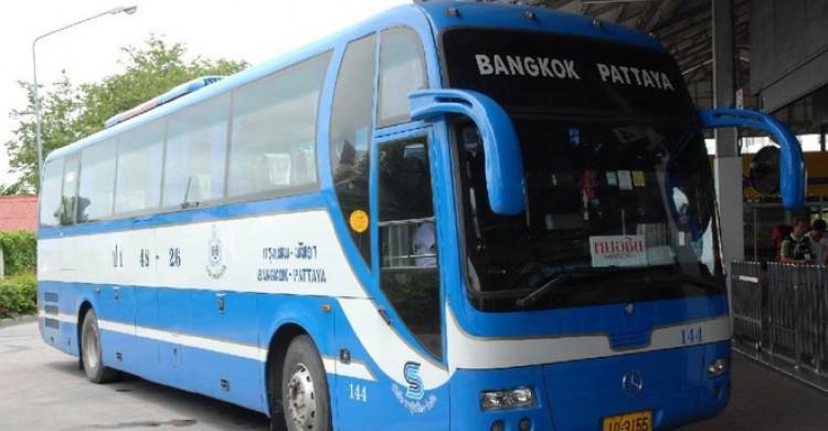 xe bus từ Bangkok đến Pattaya