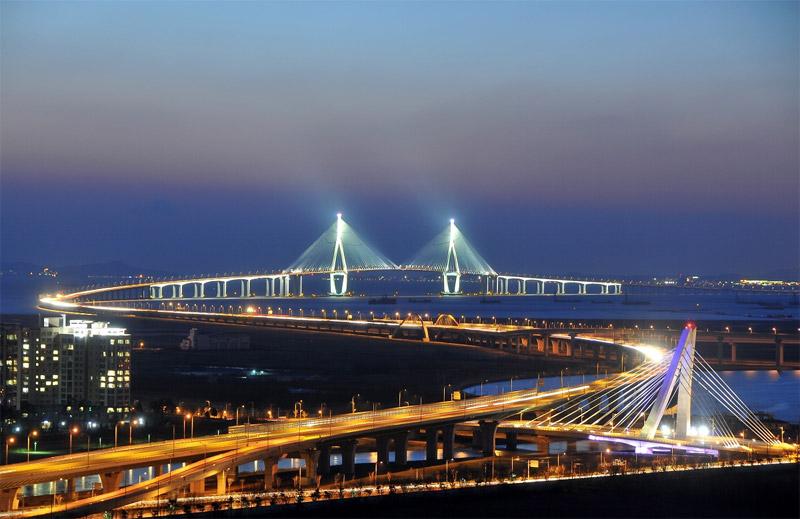cầu Incheon, Hàn Quốc