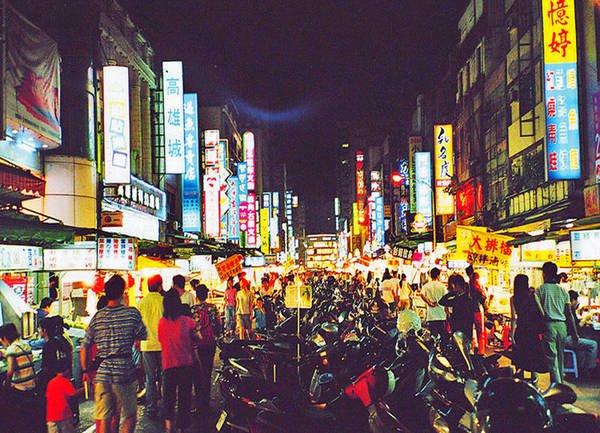 Chợ đêm Liuhe ở Cao Hùng Đài Loan