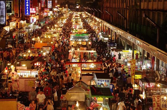 Chợ đêm là một nét văn hóa đặc trưng của xứ Đài