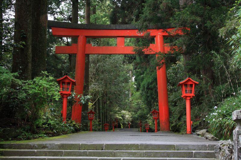 Cổng thần đạo Kasuga Nhật Bản