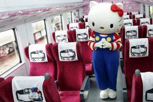 Ở Đài Loan hình ảnh của những chú mèo Hello Kitty vô cùng phổ biến