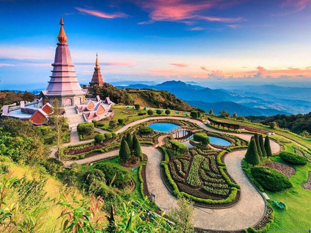 Du lịch Thái Lan vô cùng phát triển nhờ tận dụng được những ưu đãi từ thiên nhiên