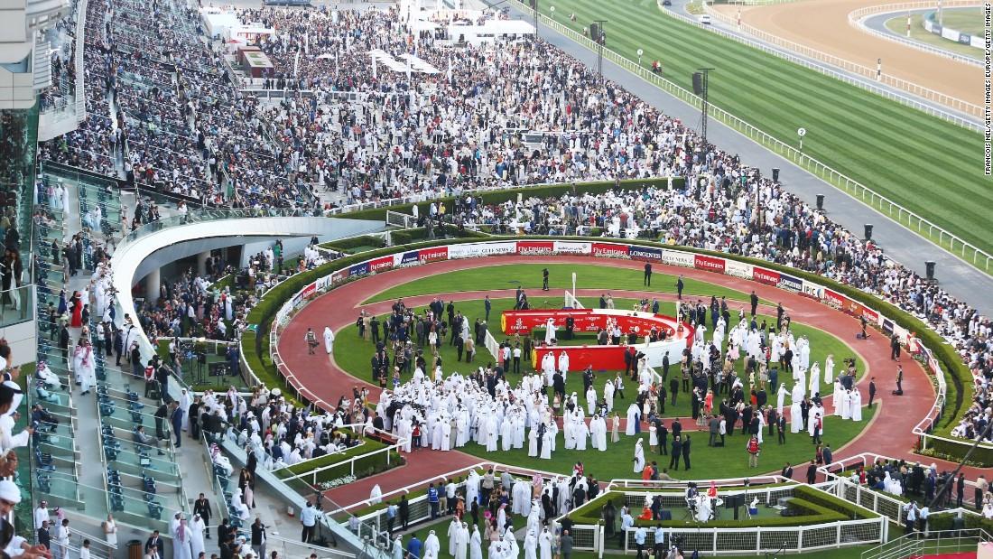lễ hội Dubai World Cup