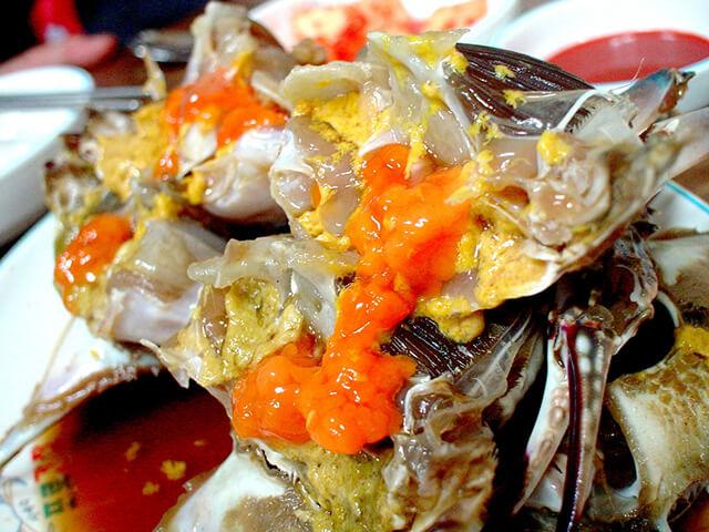 Nhà hàng Keunkiwajip được cho là nơi có món cua ngậm ghẹ thơm ngon nhất