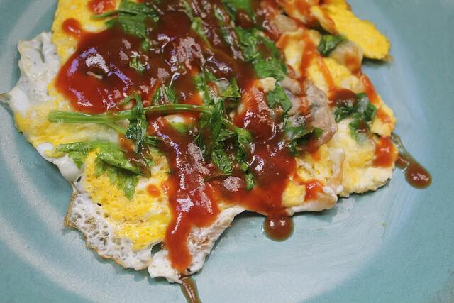 Món trứng chiên hàu đặc trưng của xứ Đài