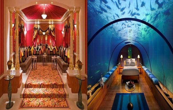 Dịch vụ trong khách sạn Buji Al Arab Dubai