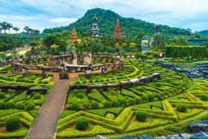 Vẻ đẹp tiềm ẩn của khu du lịch NongNooch Thái Lan