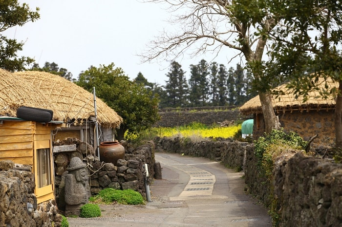 làng dân tộc Seongeup Jeju, Hàn Quốc