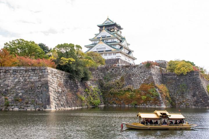 Lịch sử hình thành lâu đài Osaka