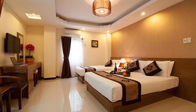 Mingdu là khách sạn bình dân 3 sao với diện tích 4500 mét vuông