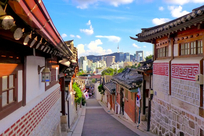 Làng dân tộc Bukchon Hàn Quốc