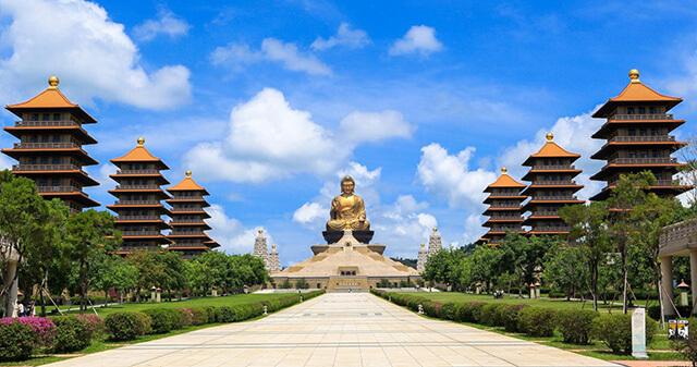 Một trong những địa điểm thăm quan không thể bỏ qua trong tour du lịch Đài Loan là Phật Quang Sơn