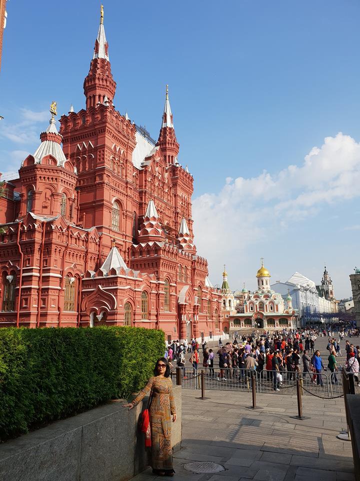 Quảng Trường Đỏ du lịch Nga