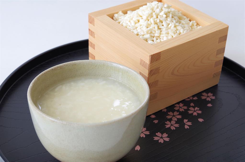 Amazake甘酒 truyền thống Nhật Bản