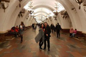 """Cảm nhận về """"Tàu điện ngầm ở Moscow"""" sau tour du lịch Nga 9 ngày 8 đêm"""