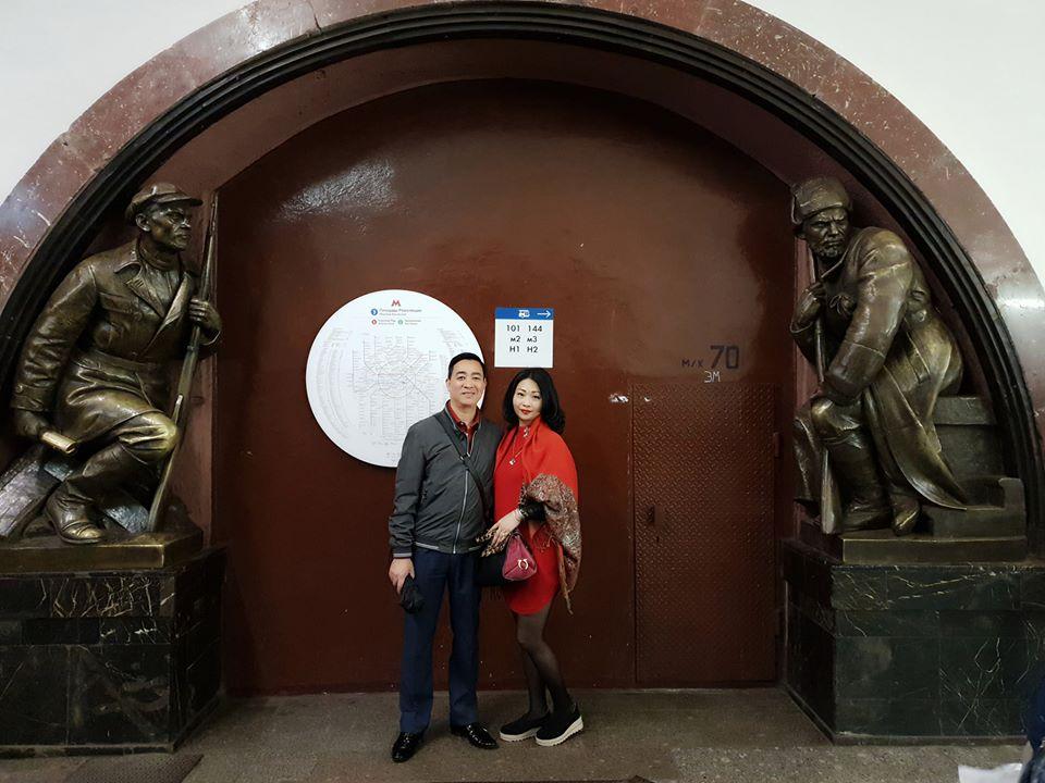 nhà ga tàu điện ngầm của nước Nga
