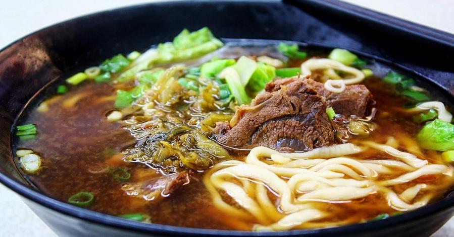 Món mỳ thịt bò Đài Bắc