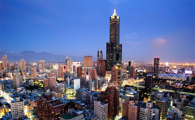 Tòa nhà 85 tháp Tuntex Sky biểu tượng kinh tế ở Cao Hùng