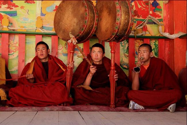 Những trải nghiệm tại Shongzalin sẽ đem đến cho du khách những cảm nhận rất khác về niềm tin và tôn giáo