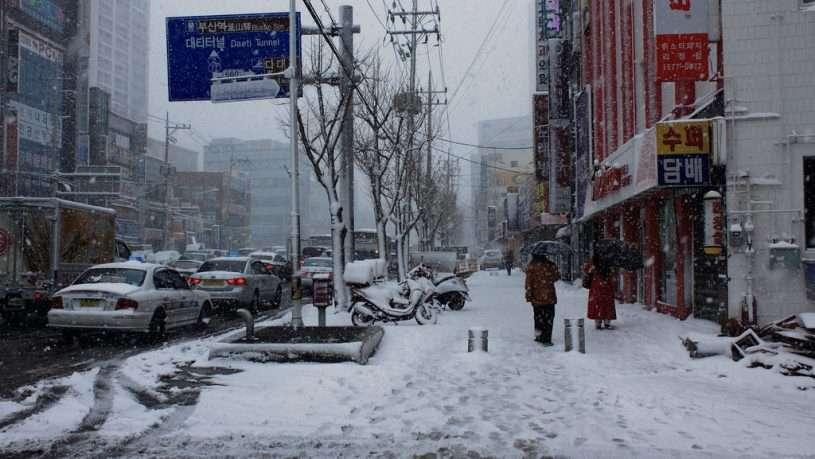 Thời tiết mùa đông tại Busan như thế nào?