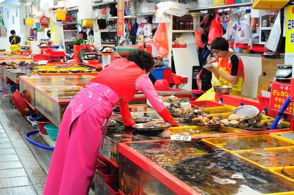 chợ cá Jagalchi