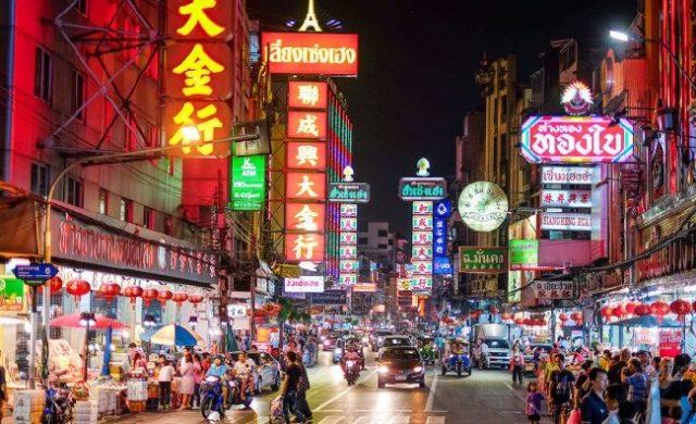 Chợ China Town Thái Lan