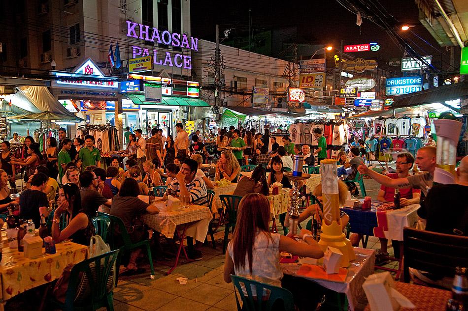 Đường Khao San Thái Lan