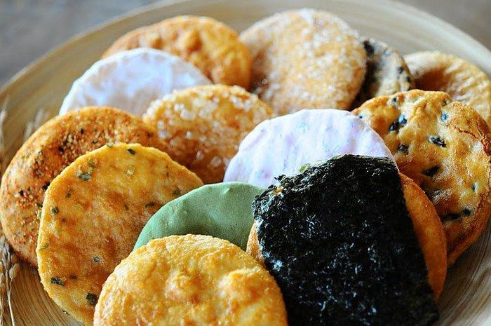 Senbei - Bánh gạo khô Nhật Bản