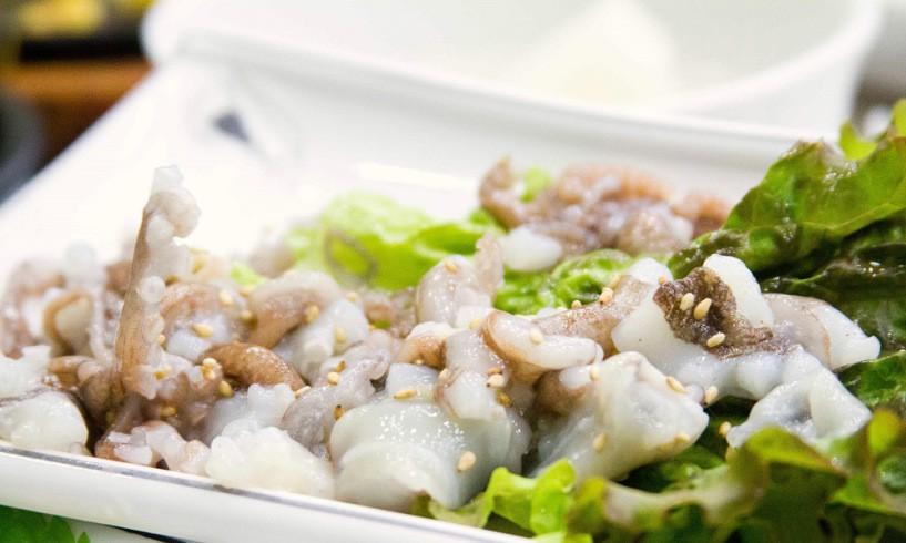 Bạch tuộc Sannakji Hàn Quốc