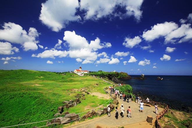 Mùa hè ở đảo Jeju Hàn Quốc