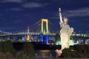 Bạn đã biết đến đảo nhân tạo Odaiba Nhật Bản chưa?
