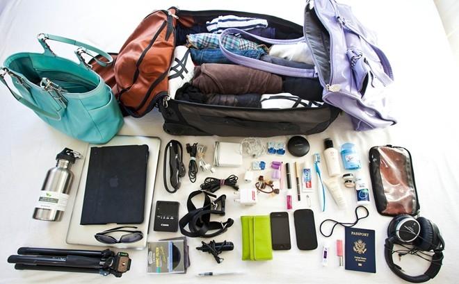 Chuẩn bị hành lý mang đi cho chuyến du lịch Thái Lan