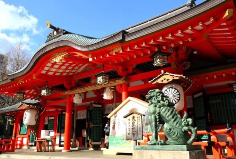 Đền thần Ikuta Jinja