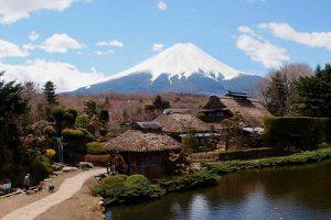 Làng cổ Oshino Hakkai Nhật Bản có gì thú vị!