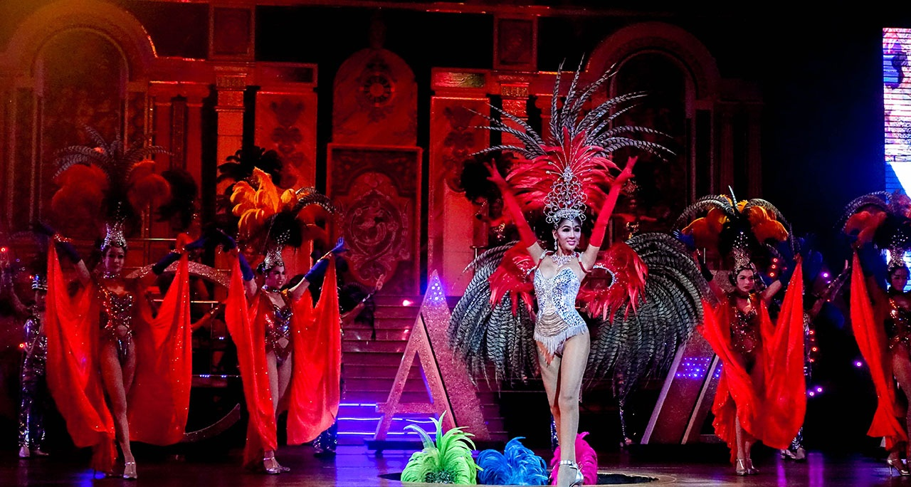 show sexy ở Pattaya