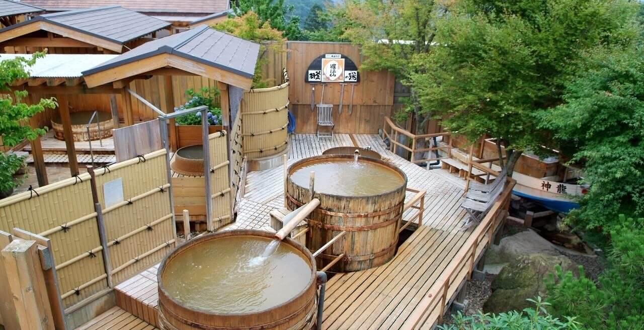 tắm Onsen khi đi du lịch Nhật Bản