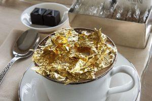 Ở Dubai vàng cũng trở thành nguyên liệu để chế biến món ăn